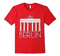 Berlin Shirt For Girls Red