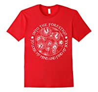 Gardens T Shirt Losing My Minds And Finding My Souls T Shirt Red