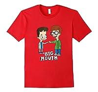 Netflix Big Mouth Fist Pump Shirts Red