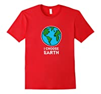 Earth Wind Fire Water Science March Scientist Day Tshirt Red