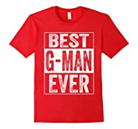 S Best G Man Ever Tshirt Father S Day Gift Red