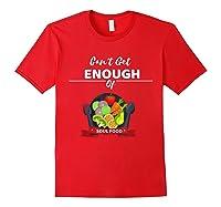 Can T Get Enough Of Soul Food Vegan Vegetarian T Shirt Red