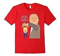 Putin S Puppet Donald Trump Anti Trump Impeach Trump Gift Premium T Shirt Red