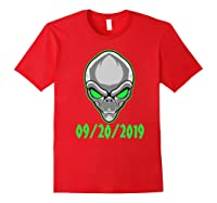 Storm Area 51 See Them Aliens Raid Ufo Cant Stop Us All Shirts Red