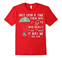 Once Upon A Time There Was A Girl Who Really Loves Books Ts Shirts Red