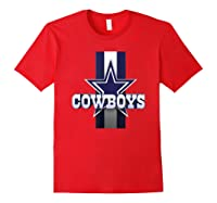 Cow Nation Of Legends Gift For T Shirt Red