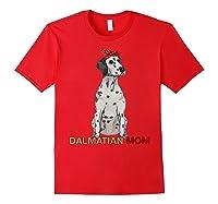 Dalmatian Mom Bandana Dalmatian Dog Lovers Gifts Shirts Red
