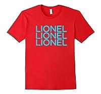 Lionel Richie - Lionel Neon T-shirt Red