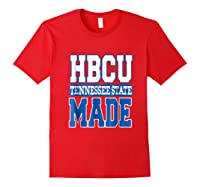 Tennessee Hbcu State University T Shirt Red