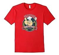Champion Of Breakfast T Shirt Breakfast Of Champions Red