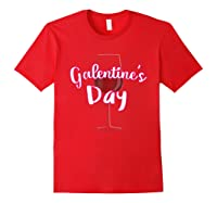 Galentine S Day Cute T Shirt Red