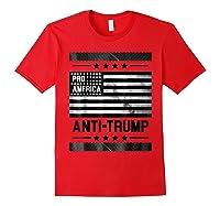 Pro America Anti Trump 4th Of July Impeach Trump T Shirt Red