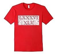8645 T Shirt Impeach Trump Shirt Anti Trump Gift Idea Red