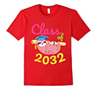 Kindergarten First Day Back To School Girl Shirts Red
