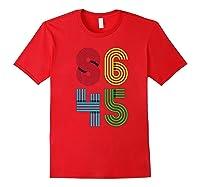Impeach Trump T Shirt Not My President 86 45 Anti Donald Red