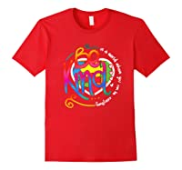 In A World Where You Can Be Anything Be Kind Autism Premium T-shirt Red