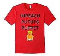 Impeach Putin S Puppet T Shirt Funny Anti Trump Shirts Red