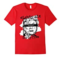 86 45 Impeach Trump Not My President 8645 T Shirt Red