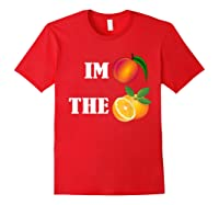 Impeach The Orange Not This President Anti 45th T Shirt Red