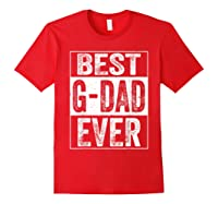 S Best G Dad Ever Tshirt Father S Day Gift Red