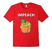 Impeach Apparel T Shirt Red