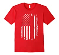 Best Uncle Ever T Shirt American Flag Fathers Day Gift Red