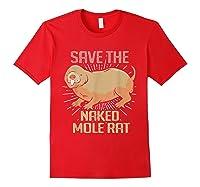 Naked Mole Ra Shirts Red