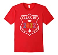 2019 Class Of 2032 Grow With Graduation First Day Of School Shirts Red