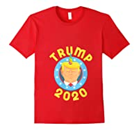 Funny Unicrontrump 2020 Election Usa Flag Republican Gift T Shirt Red