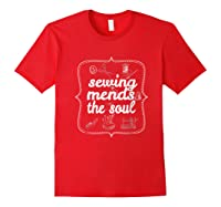 Sewing Ds The Soul Sewing Quilting T Shirt For Red