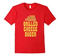 Gift For The Queen Grilled Cheese Maker Of The House Premium T Shirt Red