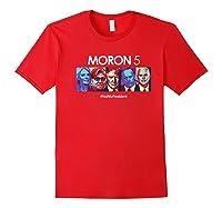 Funny Anti Trump Shirt Hate Donald Tshirt Impeach Red