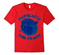 Impeach Halloween T Shirt For Girls And Adults Red