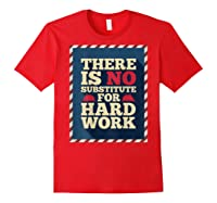 Happy Labor Day Hard Worker Cool Employee Gift Back Print T-shirt Red