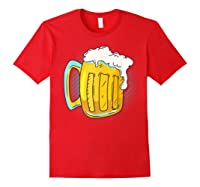 I Like Beer Shirt Professional Drinker Shirt Craft Beer Tee Red