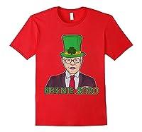 Bernie Sanders 2020 T Shirt St Patricks Day Irish Leprechaun Red