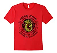 October Woman The Soul Of A Mermaid T Shirt Gift For Red