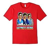 Happiness Begins Tour Music T Shirt Cool Jonas Shirt T Shirt Red