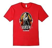 The Walking Dead Queen Carol T-shirt Red