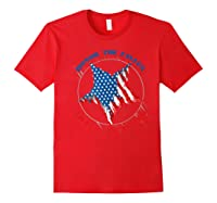 Honor The Fallen Thank The Living Veteran's Day Gift Tee Premium T-shirt Red