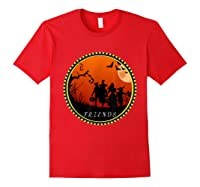 Friends Horror Scary Halloween T Shirt For Red