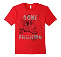 Just The Best Fishing Anywhere Shirts Red