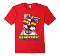 Pit Bull Pride- Gay Pride Shirt 2018 T-shirt For Red