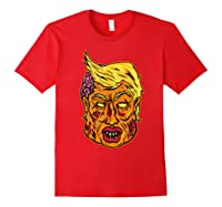 Cool And Creative Zombie Donald Trump T-shirt Red