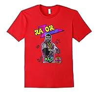 Wwe Nerds - Razor Ramon T-shirt Red