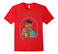 Eat Your Unicorn Meat T-shirt Red