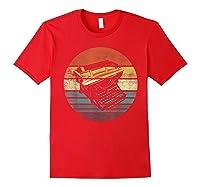 Writer Author Gifts Funny Retro Typewriter Writing T Shirt Red