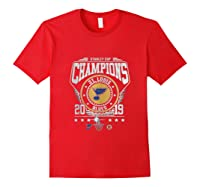 Best Gift Stanley St-louis Cup Blues Champions 2019 Tank Top Shirts Red