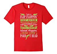 Parrot Shirt - Parrot Head Tshirts Red