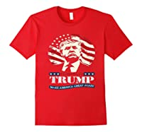 Us Patriot Republican Trump Supporter Presidential Election T Shirt Red